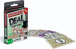 Monopoly Deal Playing Cards Game