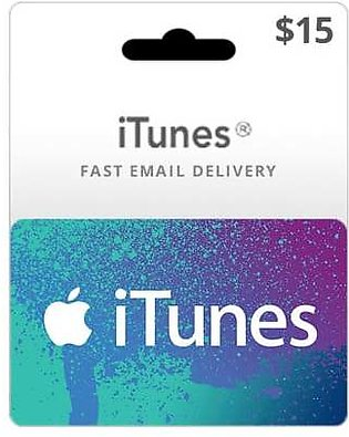 USA iTunes Gift Card $15 (Email Delivery)