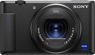 Sony ZV-1 Vlog Camera With Fast And Precise Focus Transition/Pro-Quality Bokeh/…