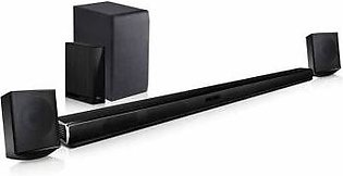 4.1 ch Sound Bar Surround System with Wireless Surround Sound Speakers with 1 Y…