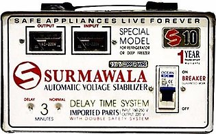 Surmawala Automatic Voltage Stabilizer S-10