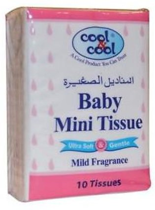 Baby Compact Mini Tissues Pack of 6