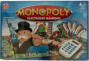 Monopoly Electronic Banking Board Game