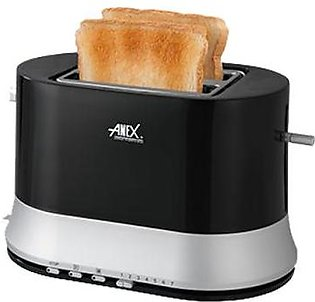 Anex AG-3017 Double Slice Cool Touch Toaster With Official Warranty