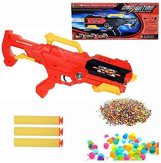 Star Fighting Orbeez Water Bullets & Soft Nerf Foam Dart Bullet Toy Gun