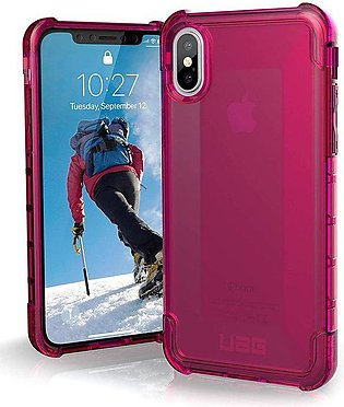 UAG iPhone X Plyo Case- Pink
