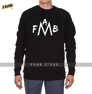Famb Printed Sweat Shirt