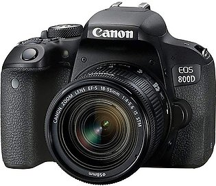 Canon EOS 800D DSLR Camera with EF-S 18-55 F IS STM Lens