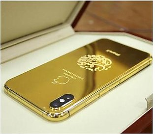 Apple iPhone XS 256GB 24kt Gold Plated
