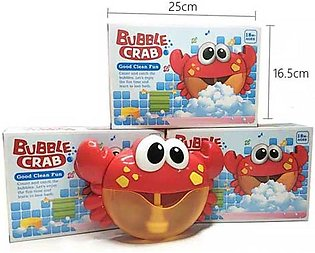 Adorable Crab Bubble Machine Musical Bubble Maker Bath Baby Kid Toy Shower Fun …