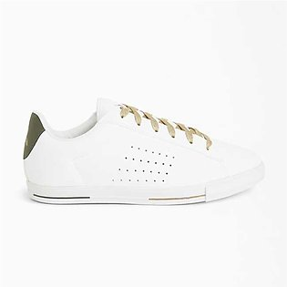 Le Coq Sportif Agate Boutique Premium Low Top Sneakers Optical White/Oli For Wo…