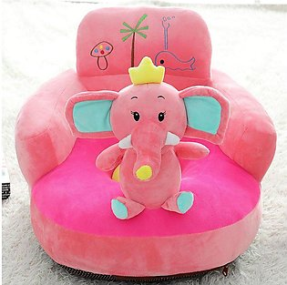 pink elephant baby seater