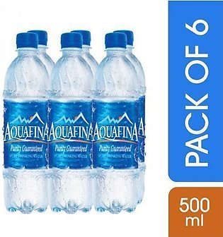 Special Discount on Aquafina Mineral Water (500 ml) Pack of 6
