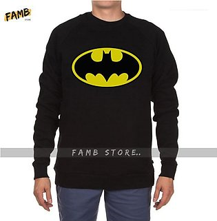 Batman Printed Sweat Shirt By Famb