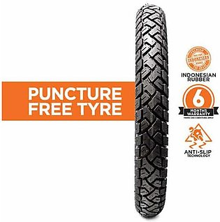 Crown Runner Puncture Free Rear Tyre – (100cc) 2.50-18 6 Ply