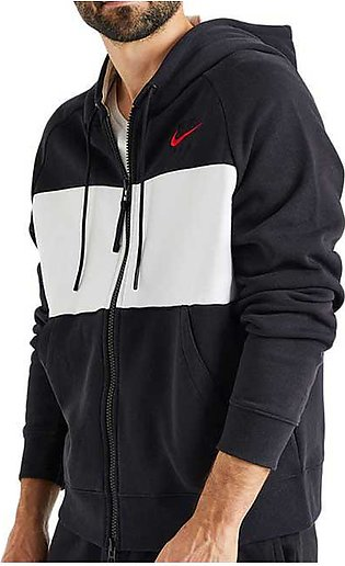 Nike Air Hooded Jacket Black for Men