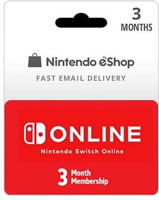 3 Month USA Nintendo Switch Online Membership (Email Delivery)