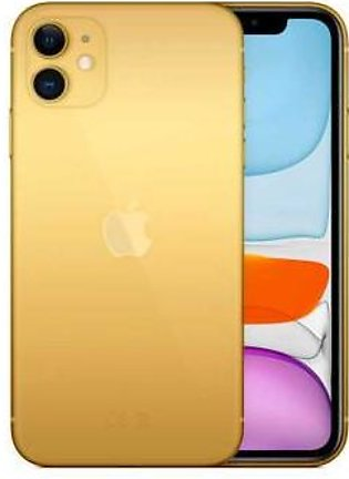 Apple iPhone 11 128GB 24kt Gold Plated (With Authentication Certificate)