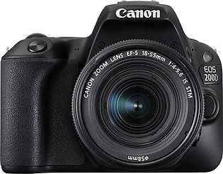 Canon EOS 200D DSLR With 18-55mm, 16GB Card, Filter Bag
