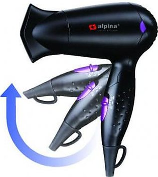 Alpina SF-3925 Travel Hair Dryer 1200W With Official Warranty