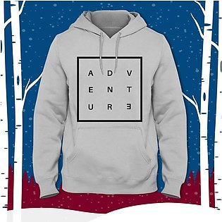 Adventure Printed Hoodie By R&H