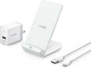 Anker PowerWave 7.5 Stand - White With Official Warranty