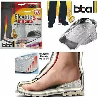 Women Height Increase Shoes Insoles Btall Layers For Upto 2 Inches