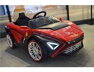 Jiangmen Electric Powered license Ferrari G Electric Shaped Ride On Car With Re…