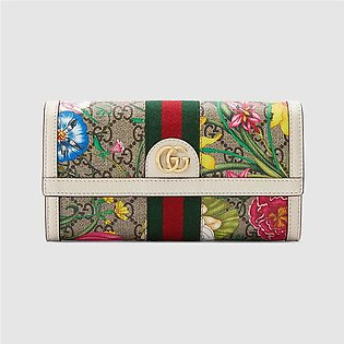 Gucci Ophidia Flora Continental Wallet