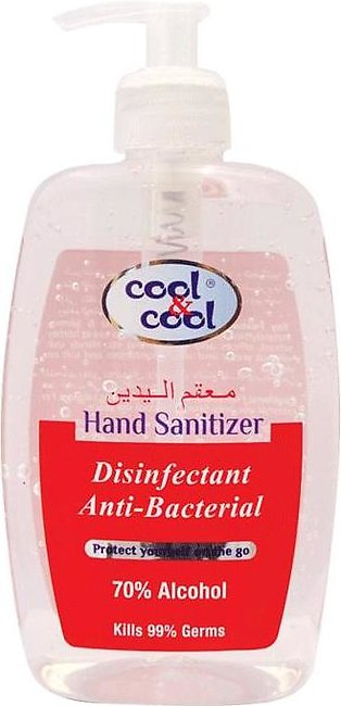 Cool & Cool Disinfectant Hand Sanitizer 250ml