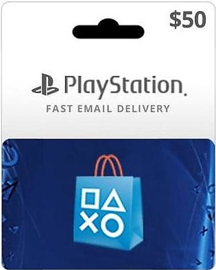 USA Playstation Network Card $50 (Email Delivery)