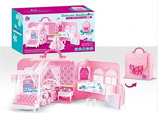 Deluxe Bedroom Girls Play House Toys