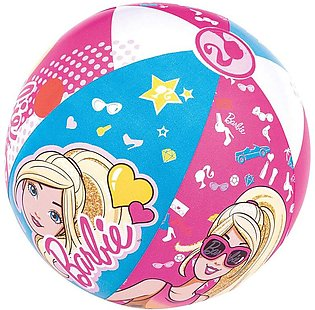 Bestway - Barbie Beach Ball Pink For Girls - 20 inches