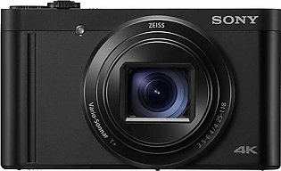Sony DSC-WX800 CyberShot Compact High-Zoom Camera With 4K Recording