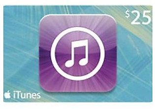 Apple iTunes 25$ Gift Card (Email Delivery)