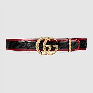 Gucci Belt With Torchon Double G Buckle