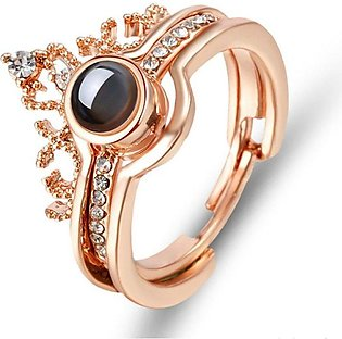 100 Language I Love You Ring for Women
