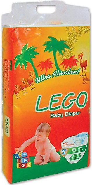 LEGO ECONOMY PACK MEDIUM DIAPERS (44 PCS)