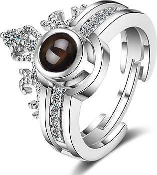 100 Languages I Love You Ring for Women
