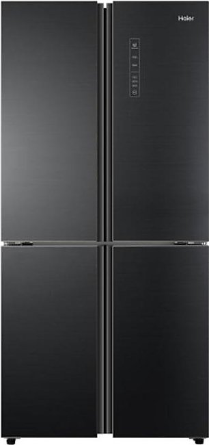 Haier HRF-578TBG T Door No Frost Inverter Refrigerator Black Glass With Officia…