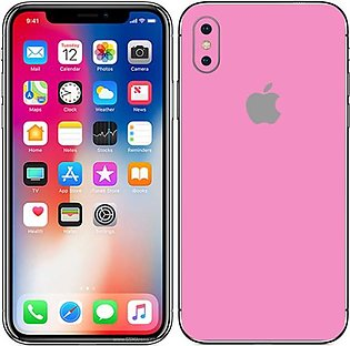 Pastel Matte Skin For Mobile Iphone X Back and Sides
