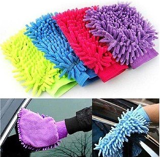 Super Mitt Microfiber Cleaning Gloves Pack of 2