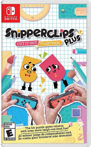 Snipperclips Plus: Cut it out Together! Nintendo Switch Game