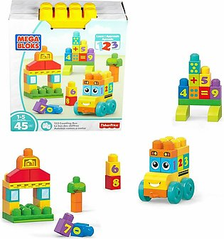 Fisher Price Mega Bloks 123 Counting Bus toy