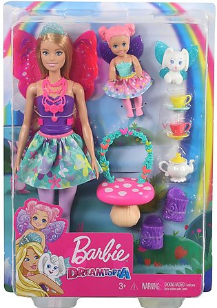 Barbie Dreamtopia Tea Party Doll and Accessories