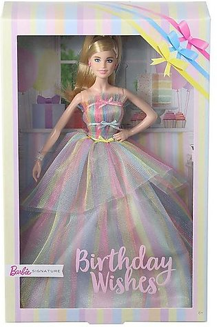 Barbie Birthday Wishes Doll (Styles Vary)