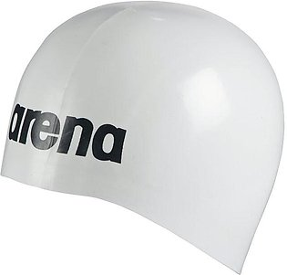 Arena Moulded Pro-II Swimming Cap-White