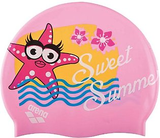 Arena AWT Multi Junior Swimming Cap-Pink