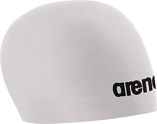 Arena 3D Race Swimming Cap-White