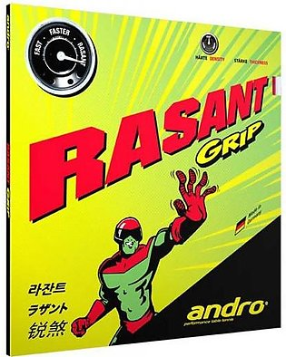 Andro Rasant Grip Table Tennis Rubber